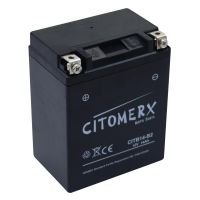 Batterie YB14-B2 12V/14AH für Motorrad Quad ATV inkl. Säure DIN: 51414 (160861)