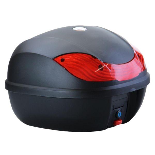 CMX® Motorradkoffer Rollerkoffer Top Case Topcase 30L schwarz (165218)