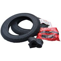 2x Fahrrad Kinderwagen Roller Reifen Kenda 12 1/2 x 2 1/4 62-203 inkl. Schlauch (1662552562)