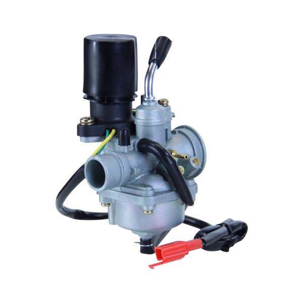 Tuning Vergaser 17,5mm 2-Takt mit E-Choke für Keeway, CPI, Explorer, Generic uvm. (160212)