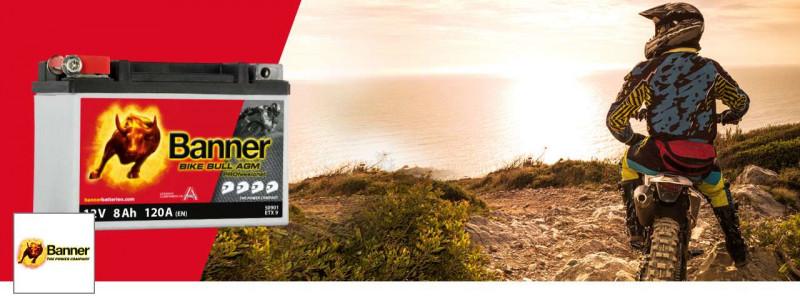 Banner Bike Bull Motorradbatterien - Jetzt günstig online kaufen