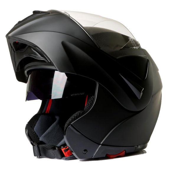 Klapphelm Integralhelm Motorradhelm CMX Vader matt schwarz (16404550)
