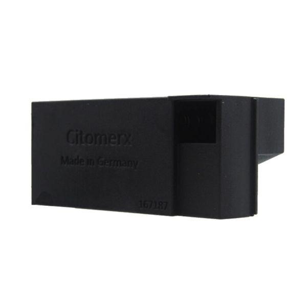 Luftfilterkasten 20mm eckiger Einlass schwarz Hercules Optima Supra 2/3 Tuning Prima Sachs 505 D (167189)