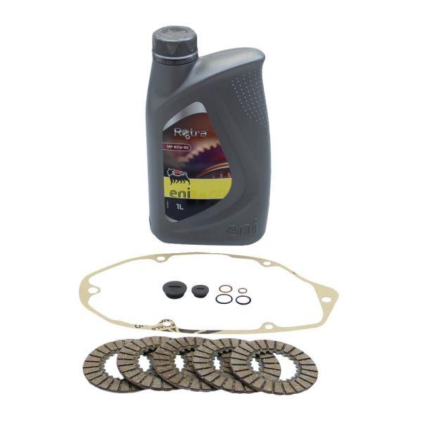 Kupplungslamellen Öleinfüllschraube Dichtung Öl SET Sachs 50 80 S SW SA 50/5 AKF WKF 501 (eckige Deckel) (167674-Sachs)