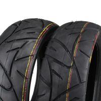 Reifen Set Vorne + Hinten für Peugeot Speedfight 120/70-12 & 130/70-12 (166091)