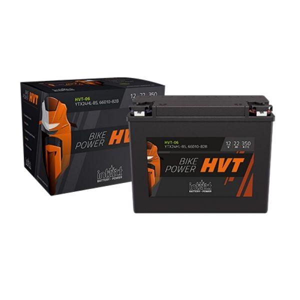Intact Bike Power HVT Motorradbatterie 12V/22 AH  Typ YTX24HL-BS | 66010-82B (HVT-06)